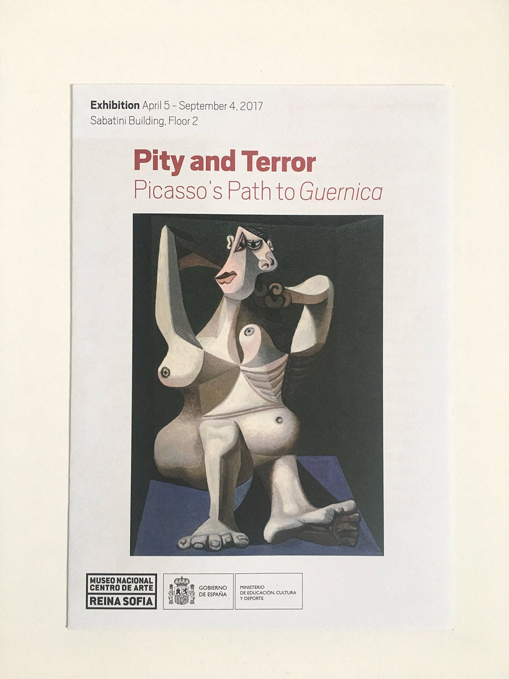 Picasso - Pity and Terror, Reina Sofia Museum, Madrid - Exhibition guide