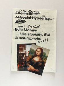 Laser Magazine - Beni Bischof - The Institute of Social Hypocrisy