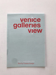Venice Gallery Guide June - September 2018.