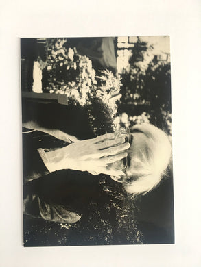 Card from Andy Warhol 'Intimate' exhibition at Yvon Lambert Gallery, Paris - RARE