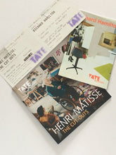 Load image into Gallery viewer, Matisse and Richard Hamilton at the Tate Modern 2014. Exhibition catalogues and tickets