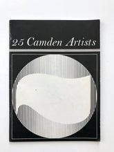 Load image into Gallery viewer, Book: 25 Camden Artists. From exhibition at Central Library Camden in 1968.