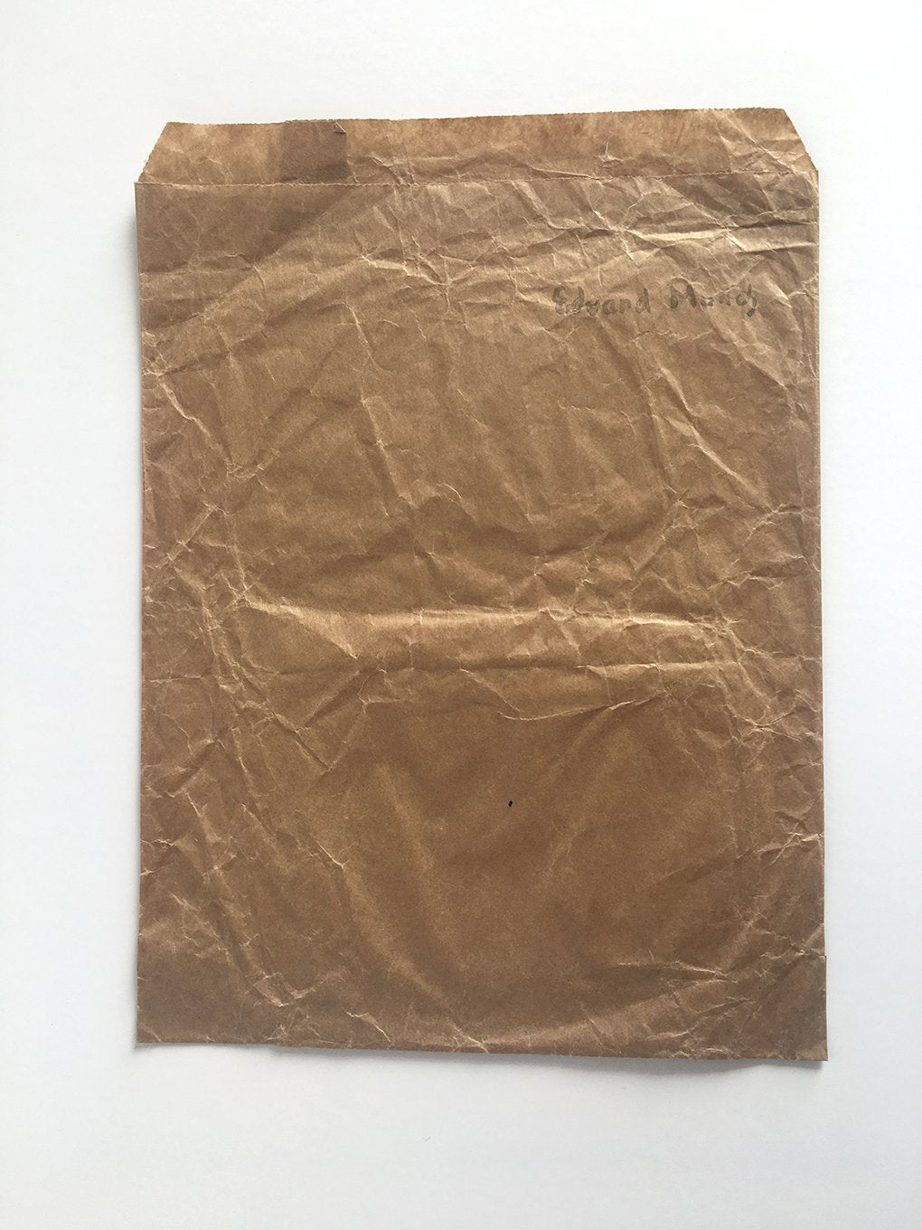 RARE - Paper bag from Munch Museum, Oslo, Norway