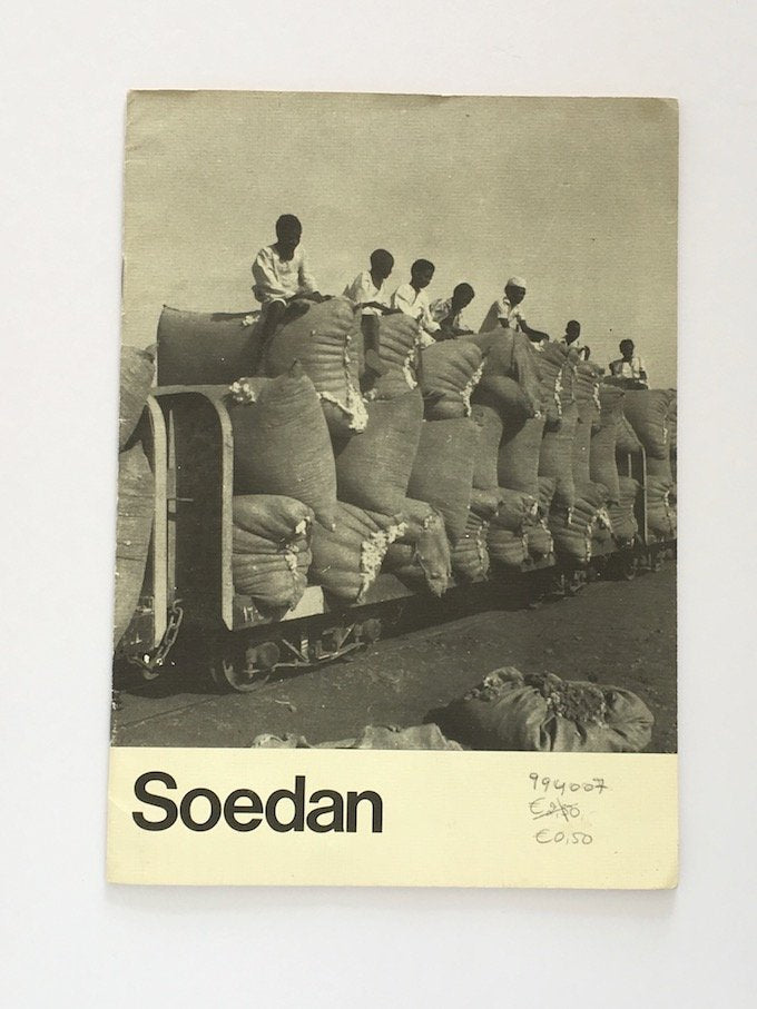 Soedan. Overview of Sudan. In Dutch. 1981