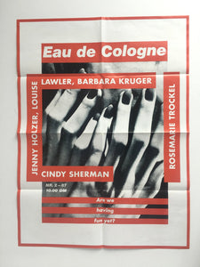 Group exhibition 'Eau de Cologne' at Sprüth Magers, London - Poster
