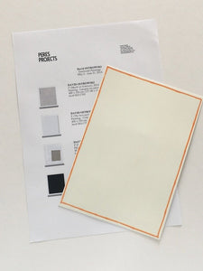 David Ostrowski at Peres Projects, Berlin, 2014 - Checklist and announcement cards