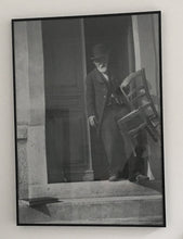 Load image into Gallery viewer, Black and white photograph of Paul Cezanne - Poster - Rare