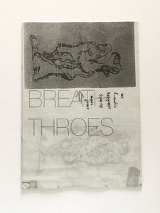 Marc Jones - Breath Throes - Fanzine