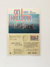 Load image into Gallery viewer, On Kawara at Museum Boijmans Van Beuningen, Rotterdam 2012 - Exhibition announcement card