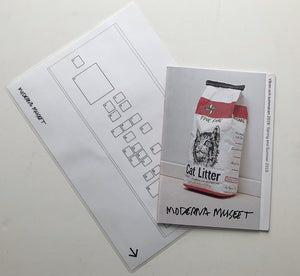 Moderna Museet Stockholm - Spring and Summer 2019 catalogue of exhibitions and floor plan