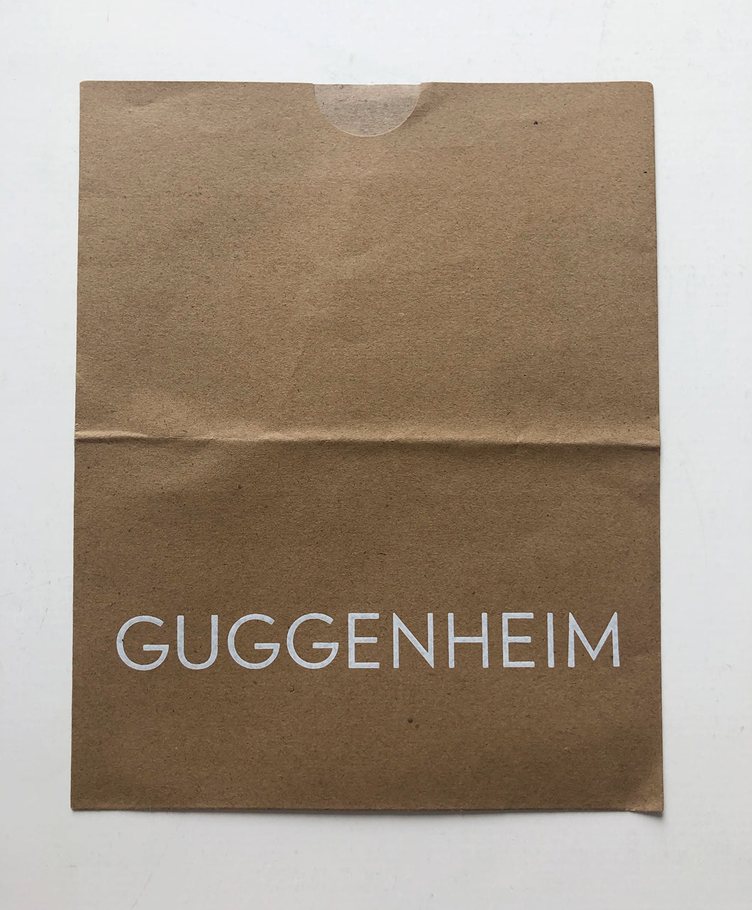 Guggenheim, NY - Brown paper bag