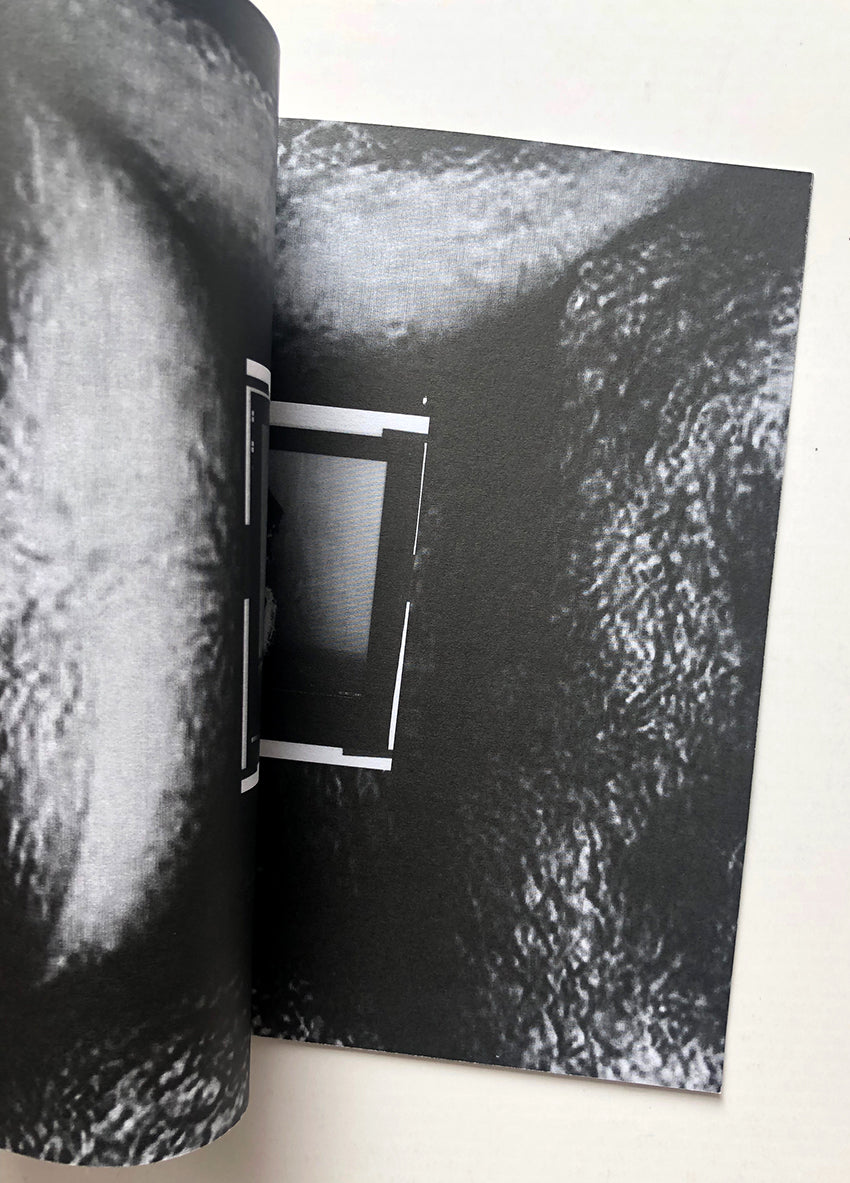 Helmut Lang - Zine 'Burry' made to accompany show at Dallas Contemporary