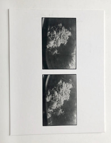 Zoe Leonard - Printed card from 'Aerials' show at Hauser & Wirth.