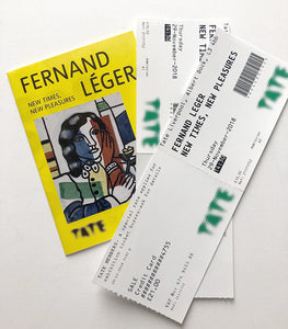Fernand Léger - Exhibition guide to 'New Times, New Pleasures'  at Tate Liverpool 2018 - with tickets