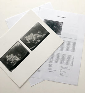 Zoe Leonard - Card, Press release and list of works from show at Hauser & Wirth, London