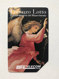 Lorenzo Lotto - Italian Telecom card printed with Lotto image. 1998