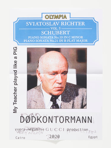 Poster My Teacher played like a PIG By DØDKONTORMANN