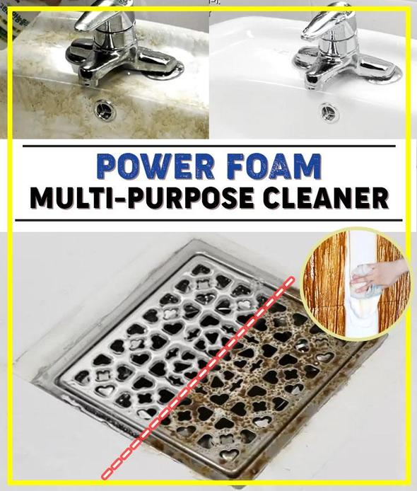Power Foam Multi-purpose Cleaner