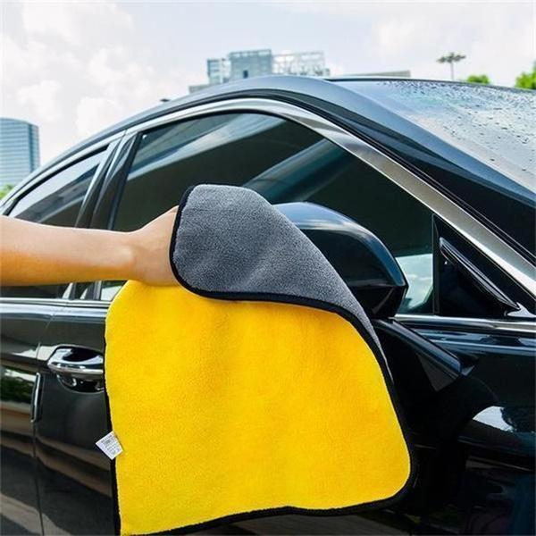 Super Absorbent Car Cleaning Towel(2PCS/Set)-Home & Garden-airvog.com-YELLOW-LARGE*2 pcs-airvog