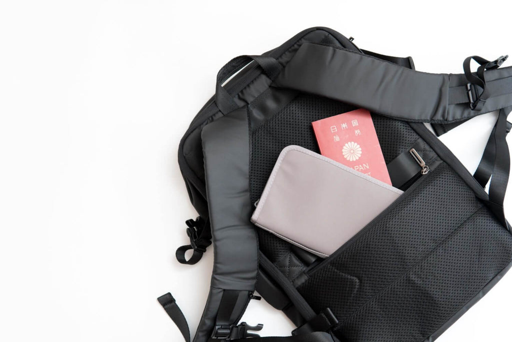 Nayo EXP backpack hidden pocket
