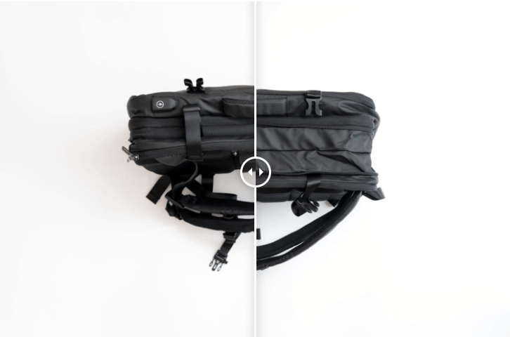 Nayo EXP backpack review expandable