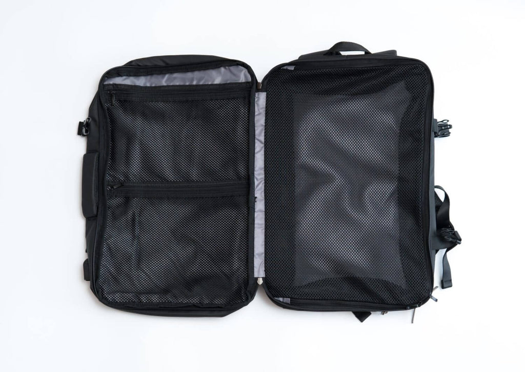 Nayo EXP backpack main compartment