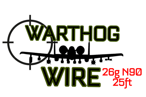 Warthog Wire 25ft Spool - 26g N90 Resistance Wire