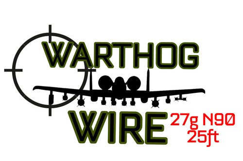 Warthog Wire 25ft Spool - 27g N90 Resistance Wire