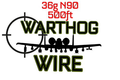 Warthog Wire 500ft Spool - 36g N90 Resistance Wire