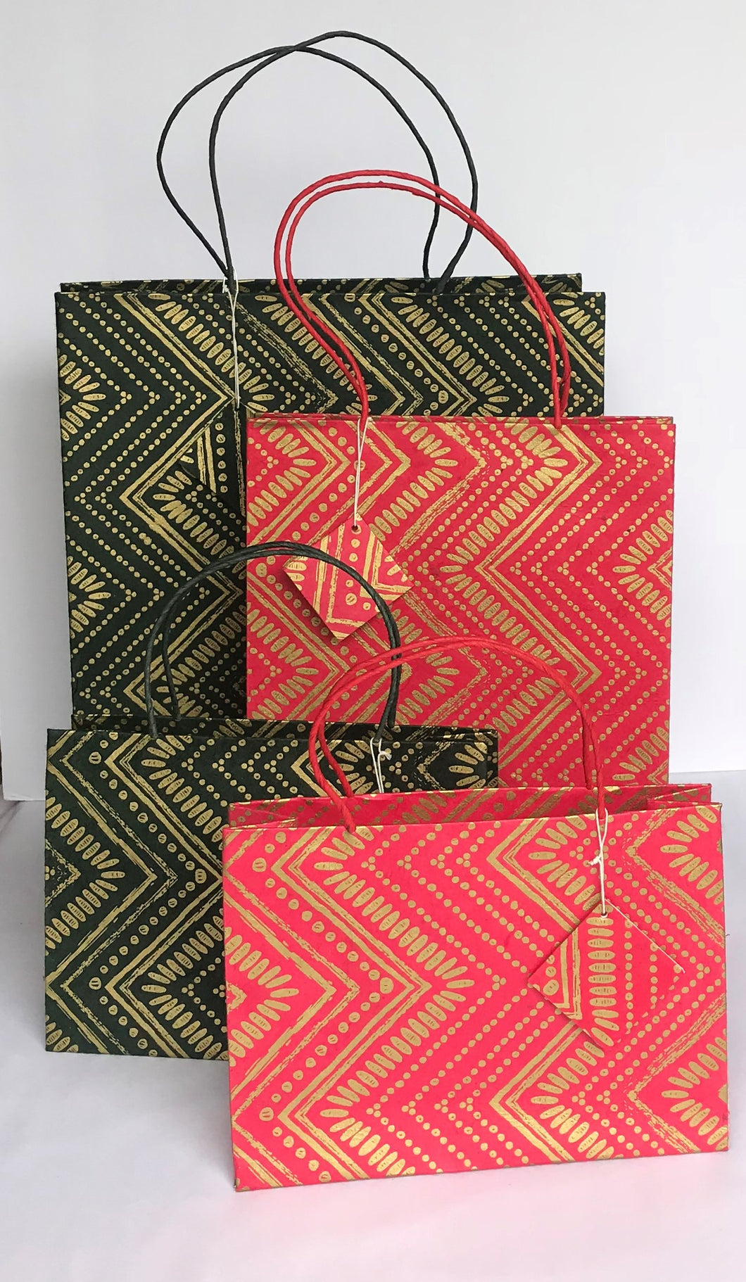 Gift Bags-Zig zag (Pack of 6 pcs)