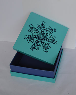 Blue Foil Design (Pack of 6 pcs)-Out of Stock