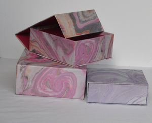 Gift Box-Marble Design