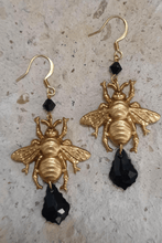 Load image into Gallery viewer, Bumble Bee Earrings