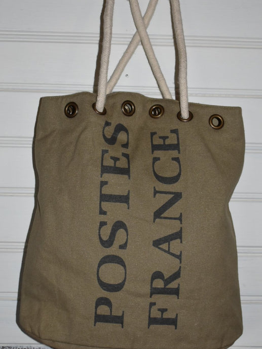 Postes France Duffle style tote bag.