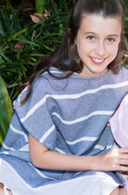 Load image into Gallery viewer, Kids' Après Swim Cotton Poncho LAST ONE