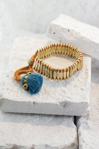 Romany Gold bracelet, avail 4 colours