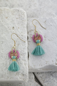 Fantasia earrings, avail 4 colours