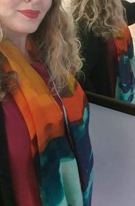 our customers rave about our luxe modal digital print scarves