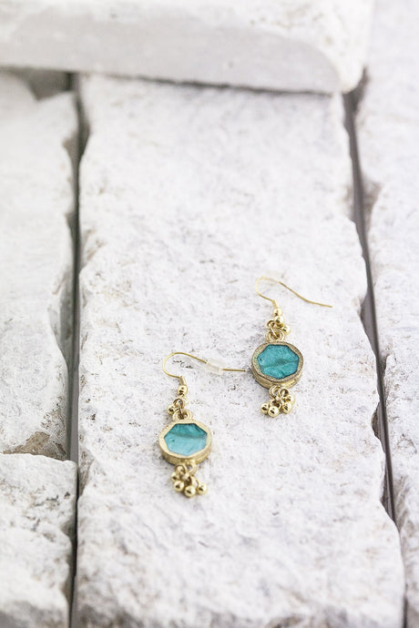 Drops of Jupiter earrings, avail 3 colours