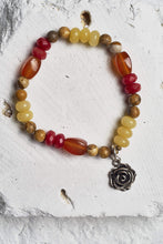 Load image into Gallery viewer, red agate bracelet