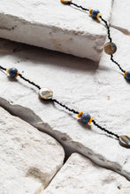 Load image into Gallery viewer, Bora Bora Necklace, Blue Coral And Shell