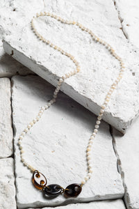 Suki Necklace, White