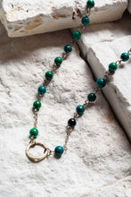 Load image into Gallery viewer, Open Circle Necklace, Green