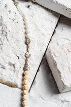 Load image into Gallery viewer, white howlite necklace