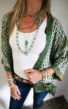 Load image into Gallery viewer, boho turquoise necklace