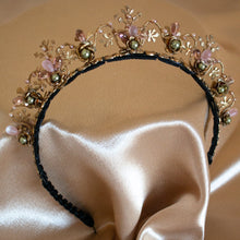 Load image into Gallery viewer, Secret Garden Brass Floral Headband