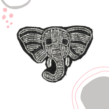 Load image into Gallery viewer, elephant brooch