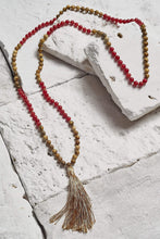 Load image into Gallery viewer, authentic mala bead necklace