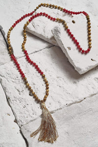 authentic mala bead necklace
