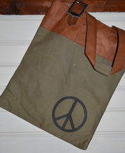 Load image into Gallery viewer, Peace Canvas Tote